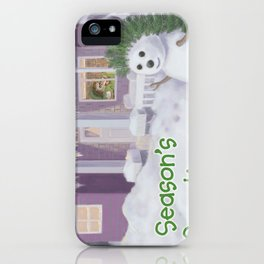 A Cosy Cup of Tea iPhone Case