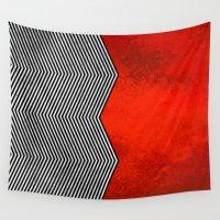 "lynch Wall Tapestries featuring Twin peaks ""David Lynch"" by Spyck"
