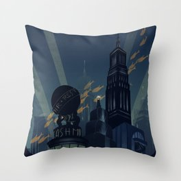No Gods, No Kings, Only Man Throw Pillow