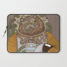 Commander Whiskers Laptop Sleeve