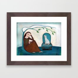 Keeping Company Framed Art Print
