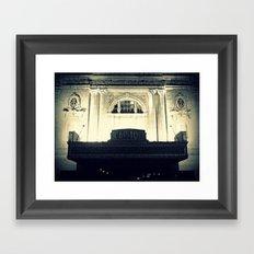Capitol Music Hall Framed Art Print