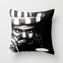 Reggae DJ Throw Pillow