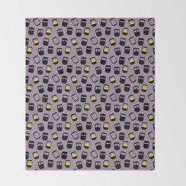 Niqabis pattern Throw Blanket