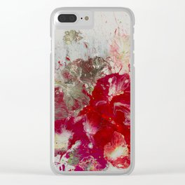 Petunias Clear iPhone Case