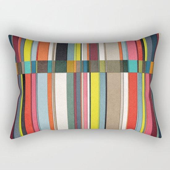colorsplit 2 Rectangular Pillow