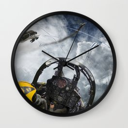 Phantom vs Mig Wall Clock