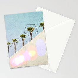 Levitated Mass (Blue) Stationery Cards