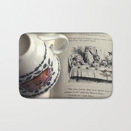 A Little Tea and Reading Bath Mat