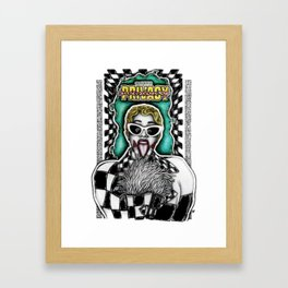Okurrrrr Framed Art Print