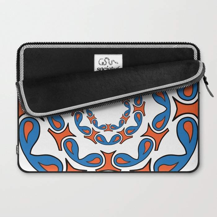 abstract mandala tribal Laptop Sleeve