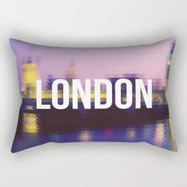 London - Cityscape Rectangular Pillow