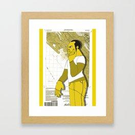 1001 Black Men--#285 Framed Art Print