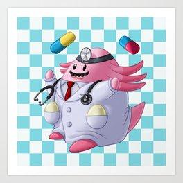 Dr. Chansey! Art Print