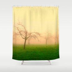 Morning Fog  - JUSTART © Shower Curtain