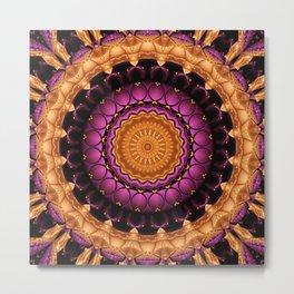 Mandala Self-esteem Metal Print
