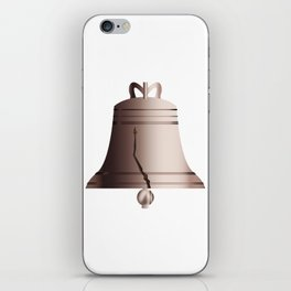 Liberty Bell With Crack iPhone Skin