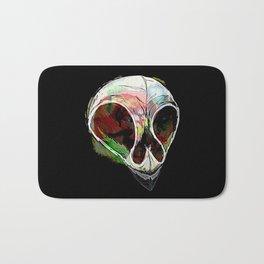 Rainbow Skull Bath Mat