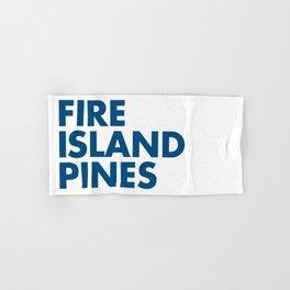 FIRE ISLAND PINES Hand & Bath Towel