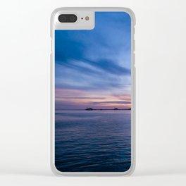 Sunset Over the Ocean in Avila Beach Clear iPhone Case
