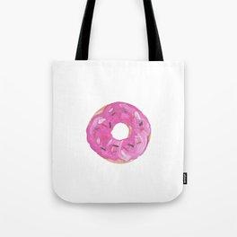 pink donut Tote Bag