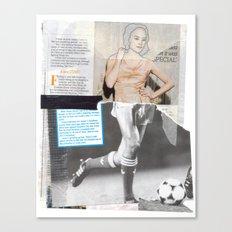 Football Fashion #4 Canvas Print