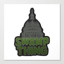 DC Swamp Thing Canvas Print
