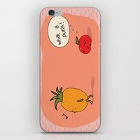 punk iPhone & iPod Skins featuring Punk by Peach it!