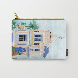 Little Victorian House Carry-All Pouch