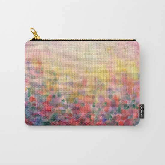 Pink Mystical Spring Carry-All Pouch