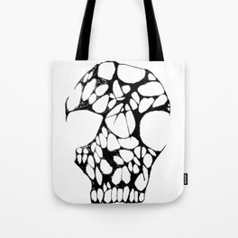 Anarchy Skull Tote Bag