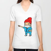 zissou V-neck T-shirts featuring Zissou by kaylieghkartoons