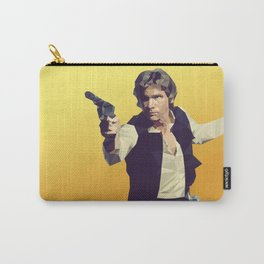 Going Somewhere Solo? - Low Poly Han Carry-All Pouch