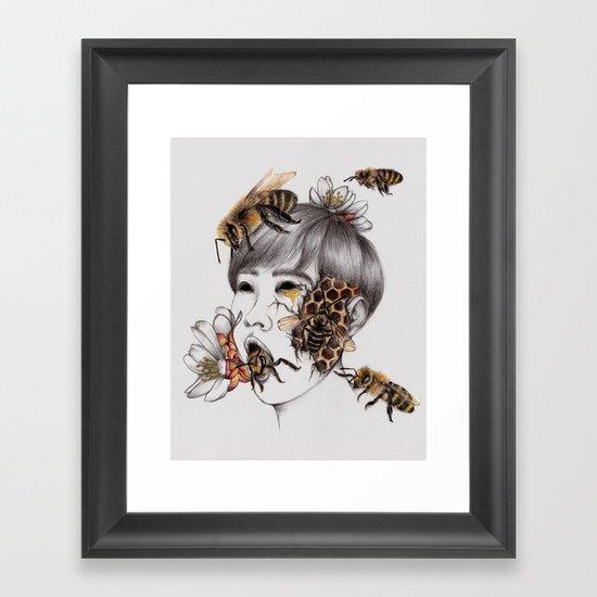 Disease IV Framed Art Print