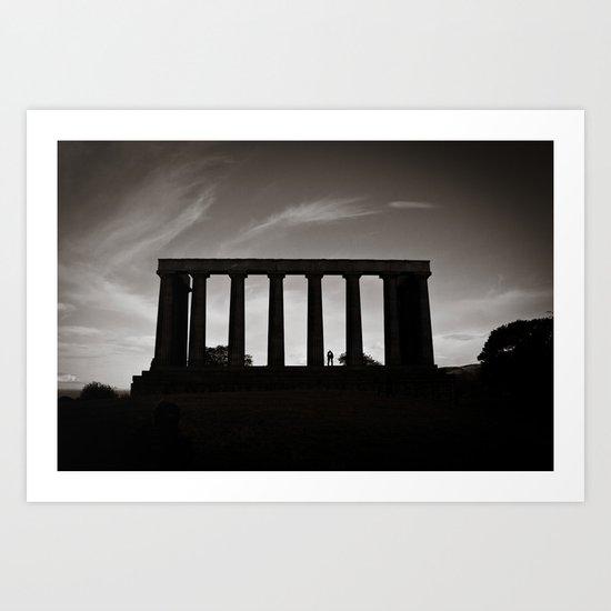 Edinburgh XXIII. Art Print