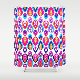Pierrot II/Happy Memoir Pattern Shower Curtain