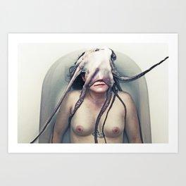The Octopus Rabbit No. 2 Art Print