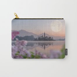 Lilac Nights Carry-All Pouch