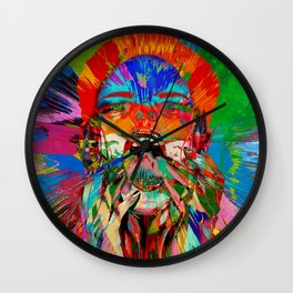 Screaming Out Loud Wall Clock