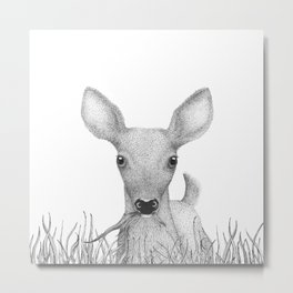 Hello deer! Metal Print