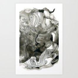 Alternate Universe Octopus Art Print