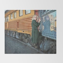 A Departure Throw Blanket