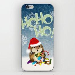 Currier & Bunnies: HO HO HO iPhone Skin