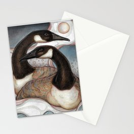 Canda Geese Stationery Cards