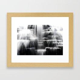 Aon Center Fountain Framed Art Print