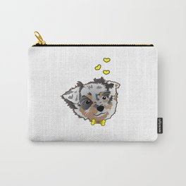 Cute Cattle Dog Doggie Pup Puppie Carry-All Pouch