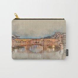 Firenze, Ponte Vecchio Carry-All Pouch