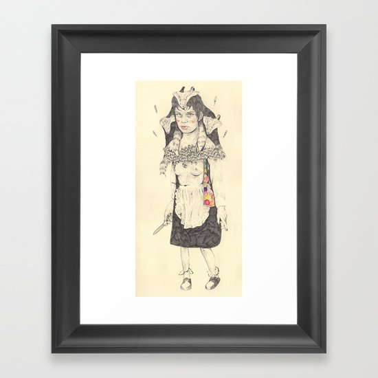 BNW #2 Framed Art Print