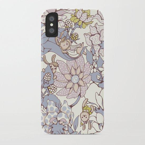 Garden party - jasmine tea version iPhone Case