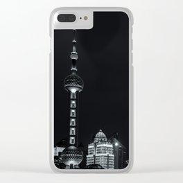 Shanghai Bund Clear iPhone Case